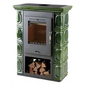 Печь отопительная Thorma Borgholm (Keramik зеленая)