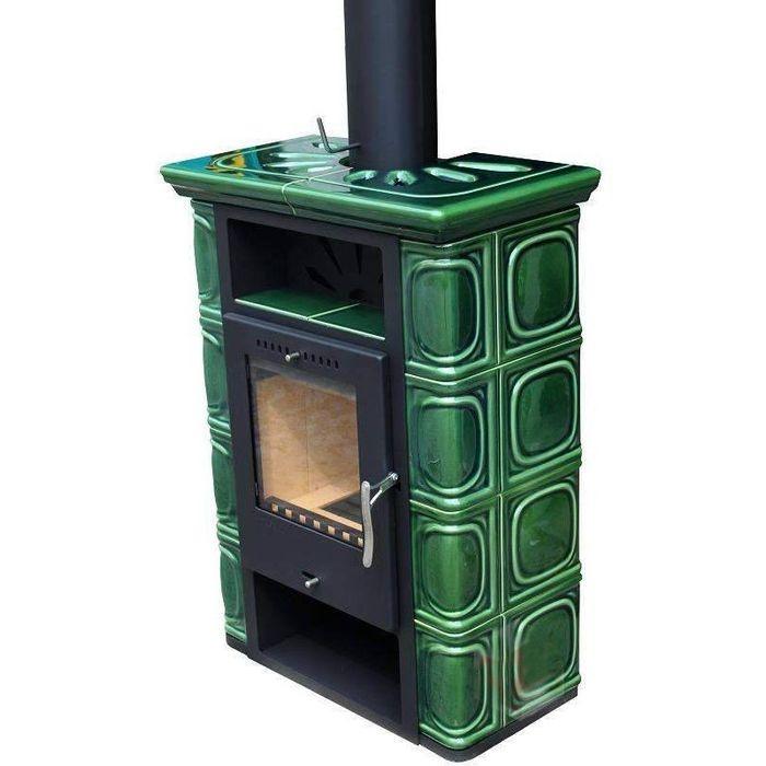 Печь отопительная Thorma Borgholm (Keramik Top зеленая)