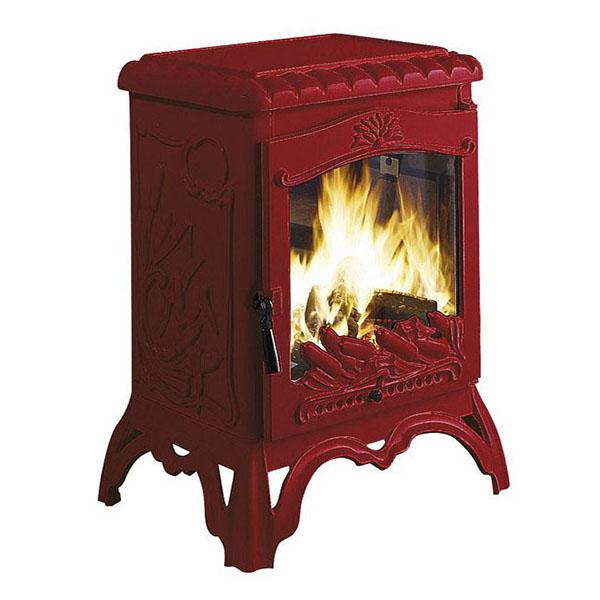 Печь камин Invicta Chambord красная