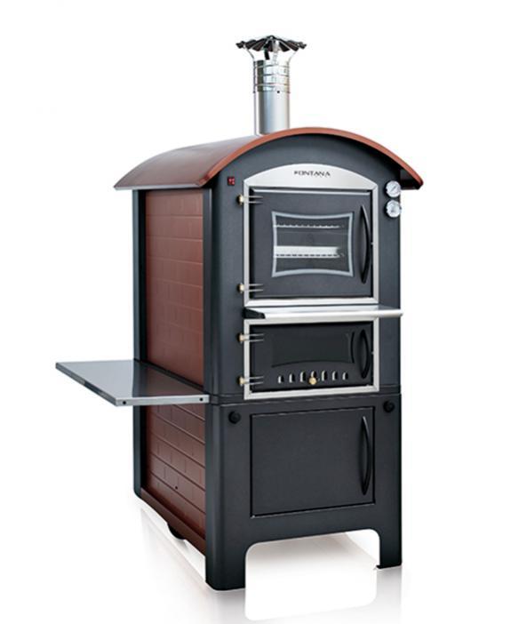 Печь - барбекю с духовкой Fiamma 80 / Фиамма 80
