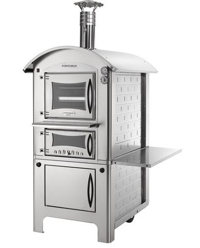 Печь - барбекю с духовкой Divino 80 Inox / Дивино 80 инокс