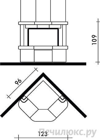 угловые камины порядовка - Нужные схемы и описания для всех.