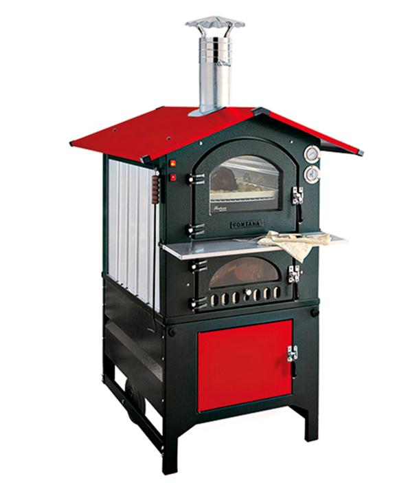 Печь - барбекю с духовкой Rosso 80 / Россо 80