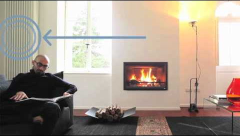 Отопление загородного дома камином MCZ