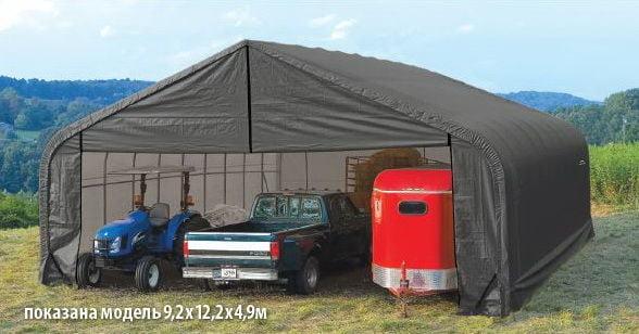 Теновый гараж.