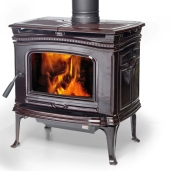 Изображение Печь камин Pacific Energy Alderlea T4 Classic Majolica Brown CD. Цена 125,060 р Заказы по телефону: 8 (495) 926-26-22.